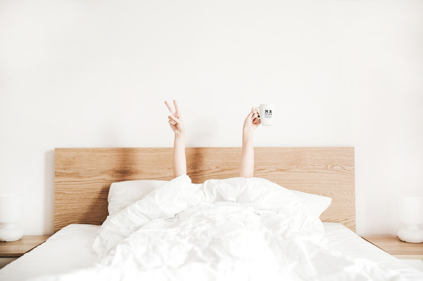 daglenzen in bed